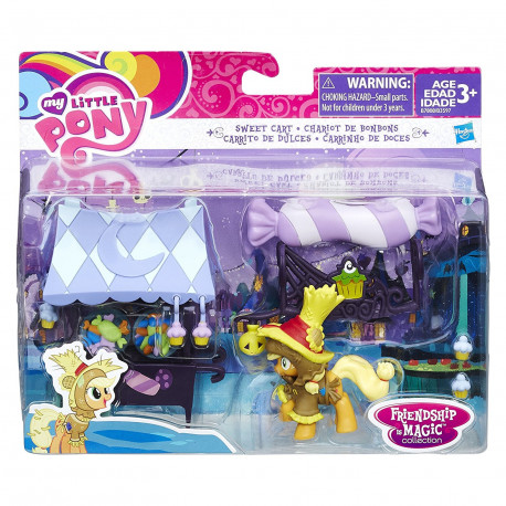 My Little Pony Sweet Cart With Applejack