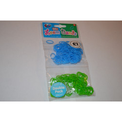 Designer Loom Band Pack (250 Pieces)