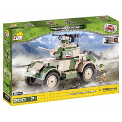 COBI Small Army - World War II - TI7EI Staghound MK I