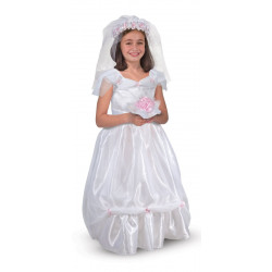Melissa & Doug Bride Role Play Costume Set