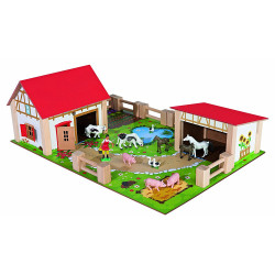 Eichhorn Wooden Toy Farm Set