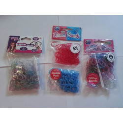 Loom Band MIX (200 x 250 Pieces)