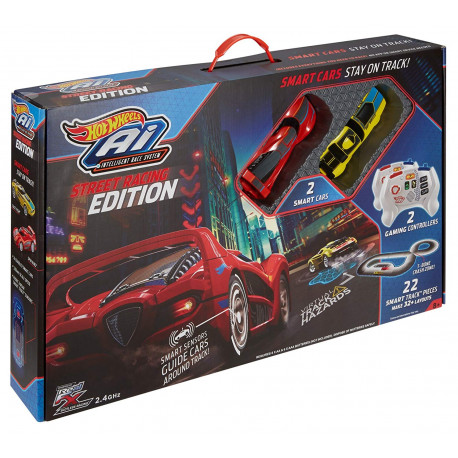 Mattel Hot Wheels FDY09 – Ai Starter Kit 2.0 Street Racing