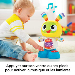 "Lavinamasis Žaislas ""Fisher-Price Bebo le Robot Interactif"""
