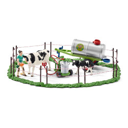 SCHLEICH - Farm World Cow family on the pasture