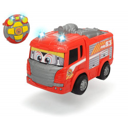 Happy Scania Fire Engine Lorry with Amazing Sound Effects