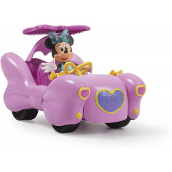 "RC kabrioletas ""Disney - Grande RC cabriolet de Minnie Fashion Doll"""