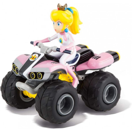 "RC keturatis motociklas ""RC Mario Kart 8 Peach Car with Nintendo Radio Control"""