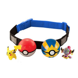 Pokemon Clip n Carry Poke Ball Adjustable Cross-Belt